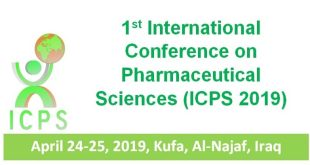 The First International Conference on Recent Researches and Innovations in Pharmaceutical Sciences