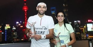 China Open : Egyptian Double