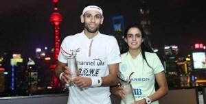 China Open : Egyptian Double