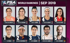 September World Rankings