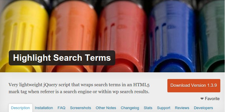 Highlite Search Terms