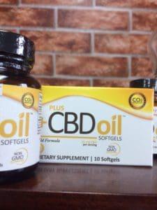 CBD Oil Softgels