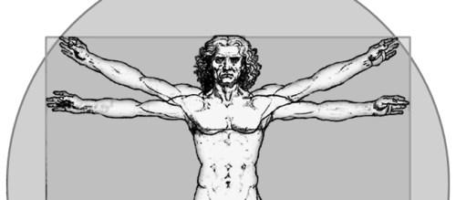 10d0de1 Vitruvian Man by Leonardo da Vinci