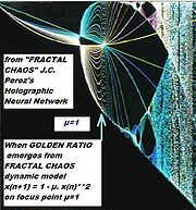 Golden_ratio  Fractal chaos Holographic neural network