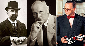 Felix Hoffmann, Gerhard Domagk, Hermann Schnell_BAYER