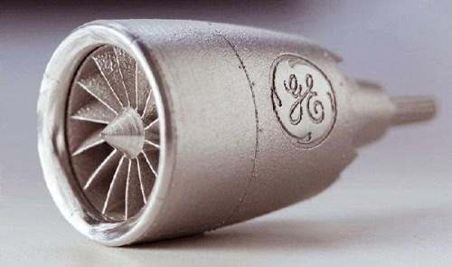 GE Turbo engine 3DP