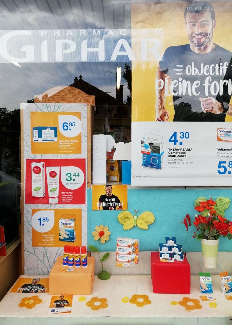 vitrine-objectif-pleine-forme-pharmacie-charlet