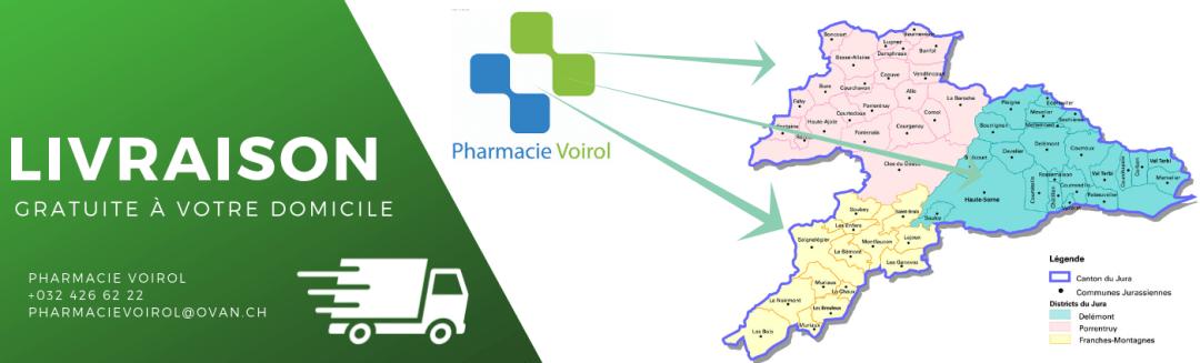 Livraison pharmacie Voirol