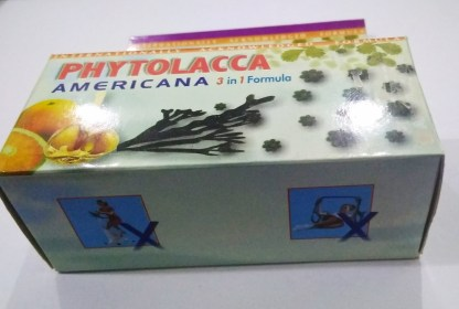 Phytolacca Americana for obesity 3 in 1 Formula
