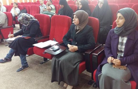برنامج التفكير الابداعي ..حلقة نقاشية تقيمها صيدلة جامعة كربلاء