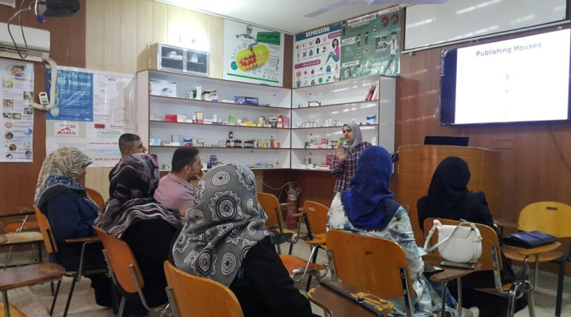 The Faculty of Pharmacy at the University of Karbala held a course in English language under the title (how to choose the appropriate magazine to present your paper)