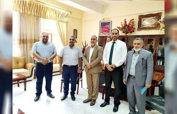 تدريسي في كلية الصيدلة يشارك في لجنة تدقيق مختبرات كليات جامعة كربلاء