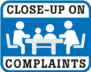 Close-Up On Complaints Logo