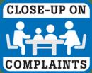 Close-Up On Complaints Logo