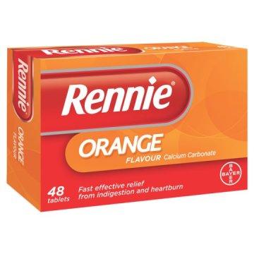 Rennie Orange Tablets 48`s