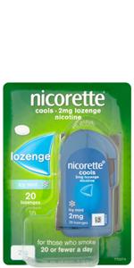 Nicorette Cool Lozenges 2mg 20`s