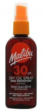 Malibu Dry Oil Spray Spf 50 100ml