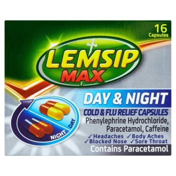 Lemsip Max Day & Night Capsules 16`s