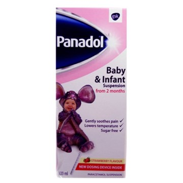 Panadol Baby And Infant 100ml