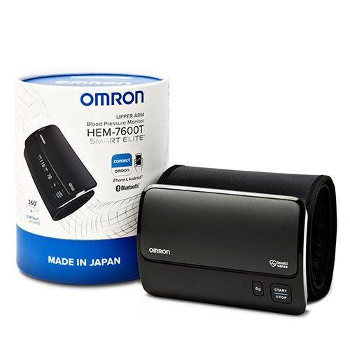 Omron HEM-7600T Upper Arm Blood Pressure Monitor Smart Elite+