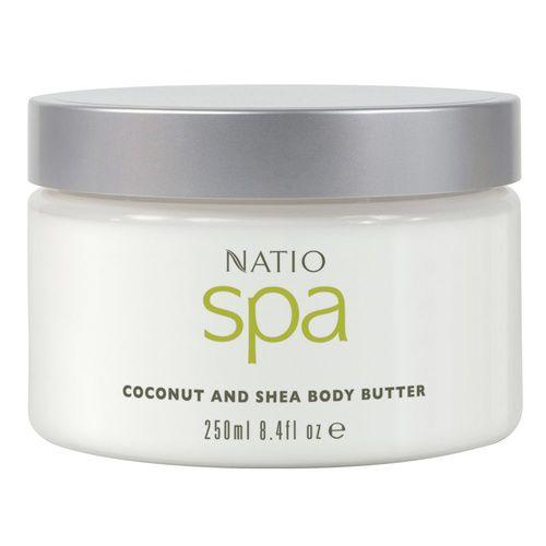 Natio Spa Coconut & Shea Body Butter 250mL