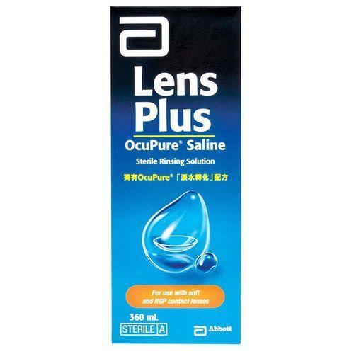 Lens Plus Ocupure Saline 360ml 3