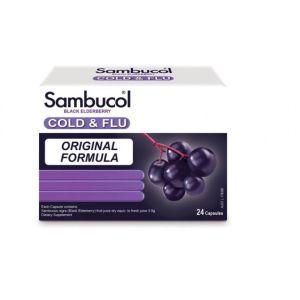 Sambucol Cold & Flu 24 Capsules