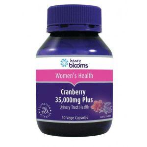 Henry Blooms Cranberry 35000mg Plus 30 Vegetarian Capsules