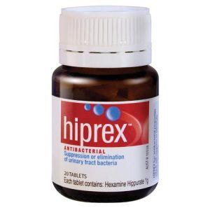 Hiprex 20 Tablets for UTI