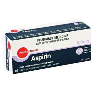 Mayne Aspirin 100mg 112 Tablets