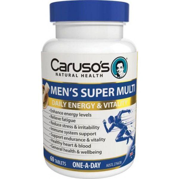 Carusos Mens Super Multi 60 Tablets 3