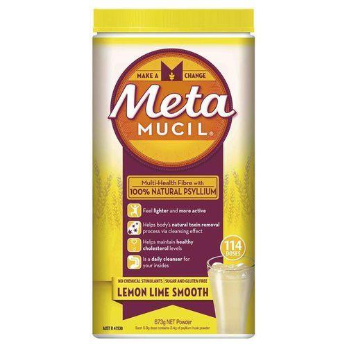 Metamucil Lemon Lime Smooth 673g 3