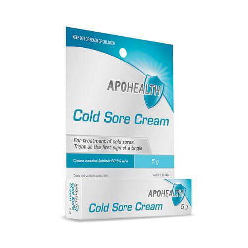 Apohealth Cold Sore Cream 5g 3
