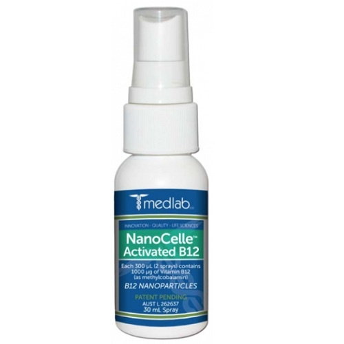 Medlab NanoCelle Activated B12 30mL 3