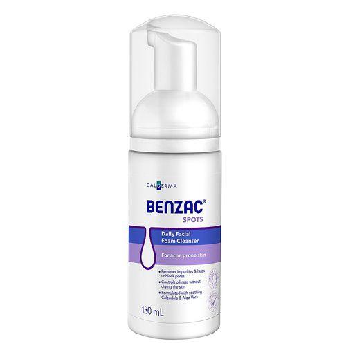 Benzac Spots Daily Facial Foam Cleanser 130mL 3