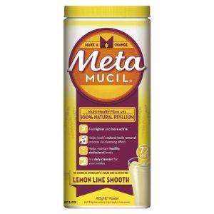 Metamucil Smooth Lemon Lime 425g