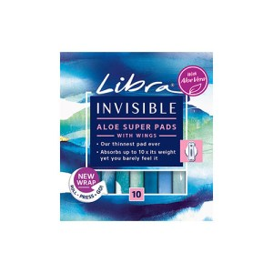 Libra Invisible Pads Super (Packet of 10)