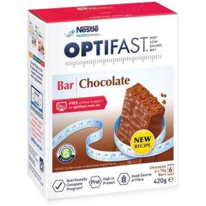 OPTIFAST VLCD Bar Chocolate – 6 Pack 70g Bars