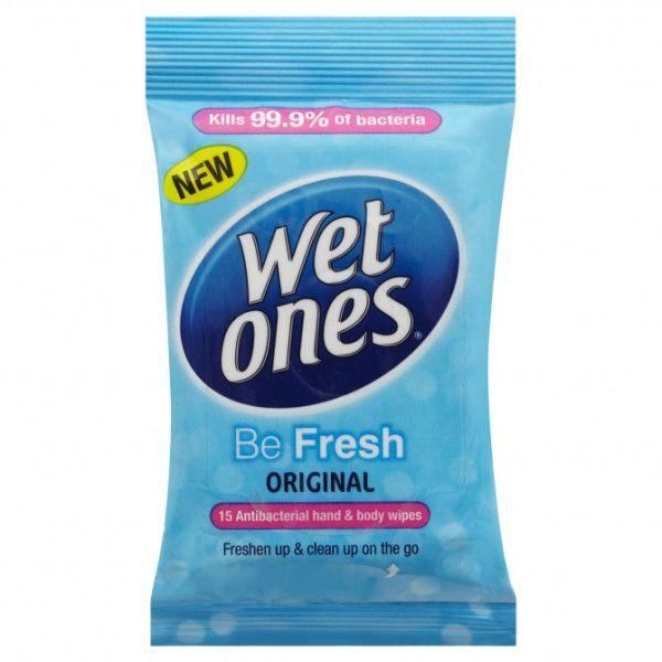 Wet Ones Be Fresh 15 Pack