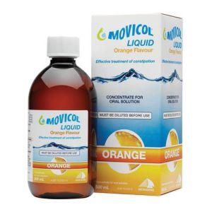 Movicol Liquid Concentrate Orange Flavour 500mL