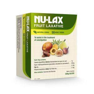 Nu-Lax 500G Natural Fruit Laxative (Nulax Senna & Fig)