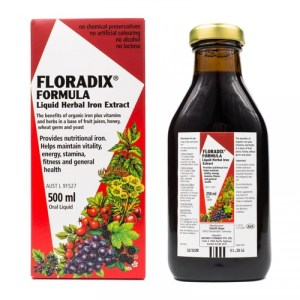 Floradix Liquid Herbal Iron Extract 500mL