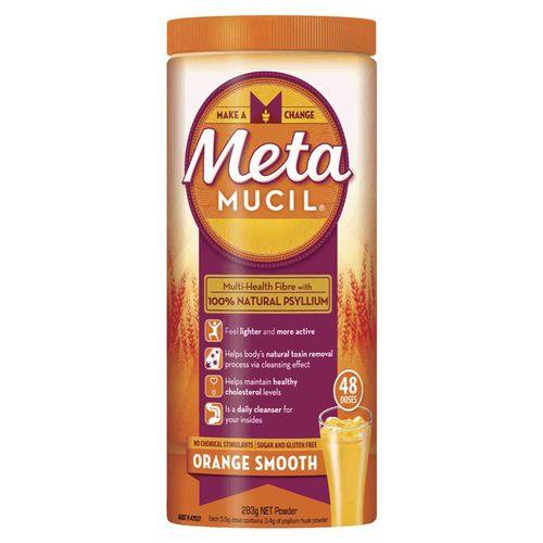 Metamucil Fibre Supplement Smooth Orange 48 Doses 283g