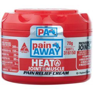 Pain Away Heat Plus Pain Relief Cream 70g