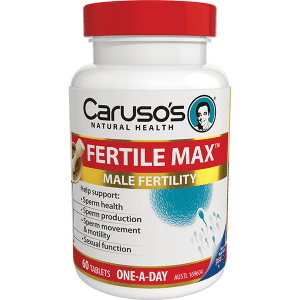 Carusos Fertile Max One A Day Tab 60