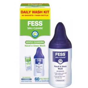 Fess Sinu Cleanse Isotonic Wash Kit 60