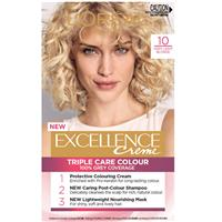 L'Oreal Excellence Permanent Hair Colour-10 Very Light Blonde