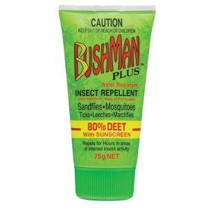 Bushman Plus UV Insect Repellent Gel 75g