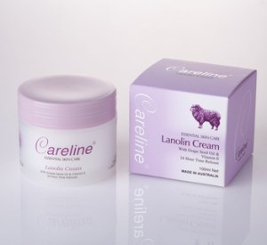 Careline Lanolin Cream with Grape Seed Oil & Vitamin E 100ml