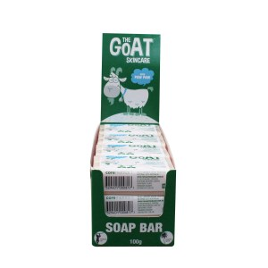 The Goat Skincare Soap Bar with PawPaw CARTON 12x100g